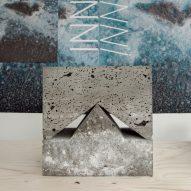 Innriinnriuses volcanic rock from Iceland to create sculptural table