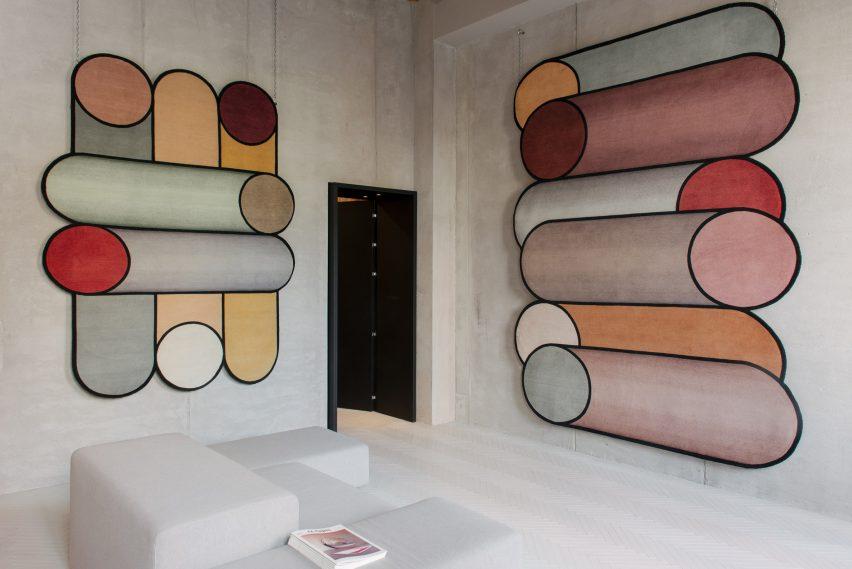 Rotazioni and Visioni by Patricia Urquiola
