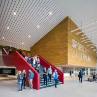 Sportcampus Zuiderpark by FaulknerBrowns