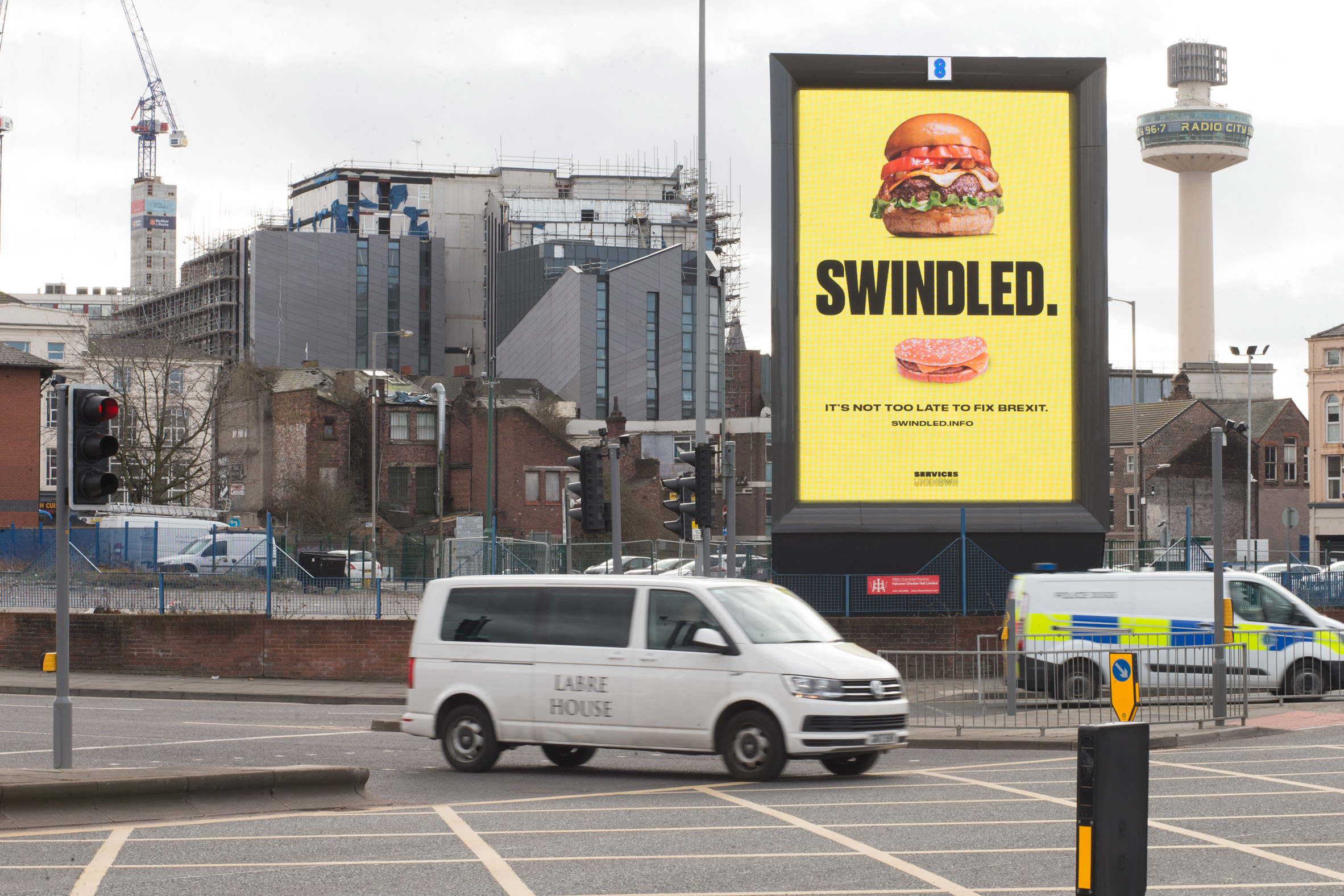 Anti-Brexit billboard campaign launched across the UK