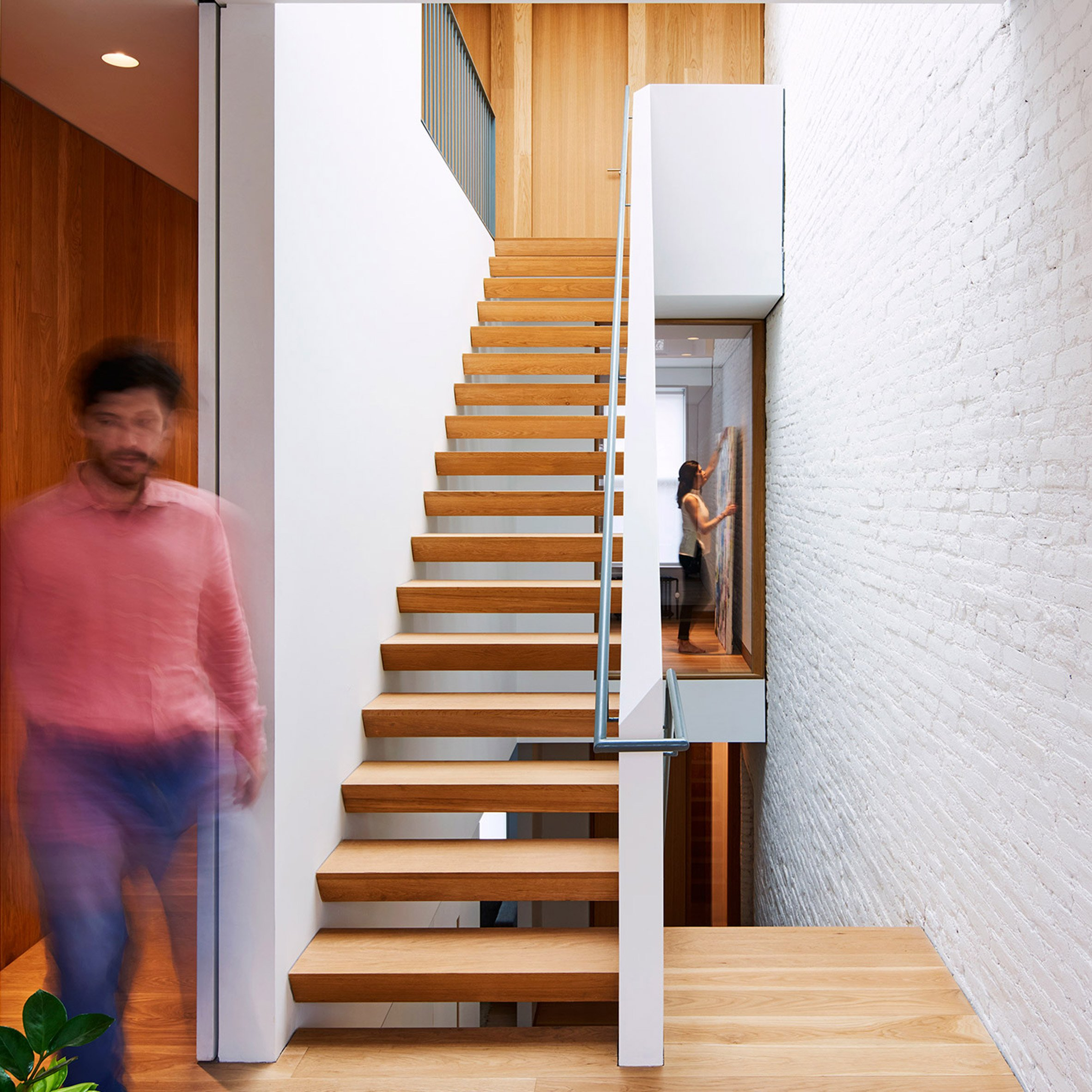 L And A Transforms Brooklyn Row House With Switchback