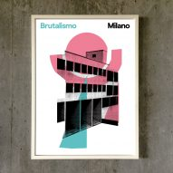 Competition: win a set of posters featuring brutalist Italian housing