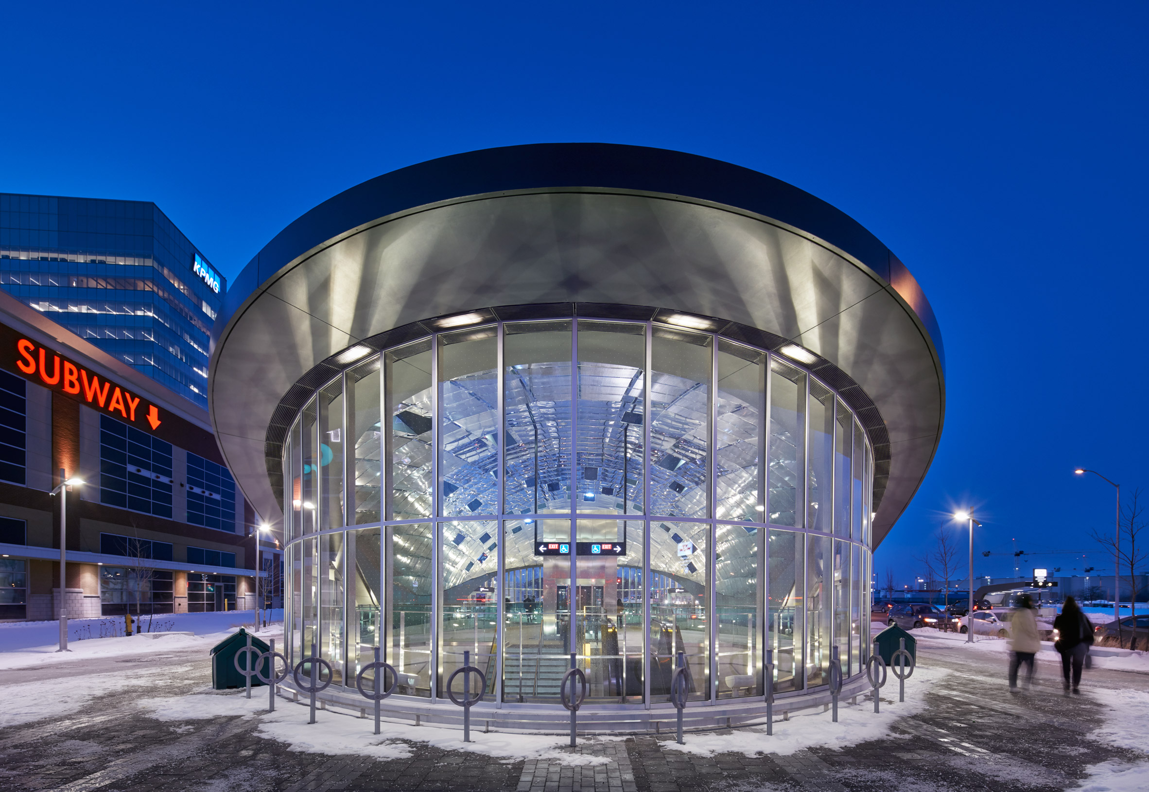 Vaughan Metropolitan Centre Station by Grimshaw Architects
