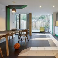 Sean Griffiths uses visual trickery inside London house extension