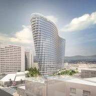 Studio Gang designs curvaceous tower for LA's Chinatown