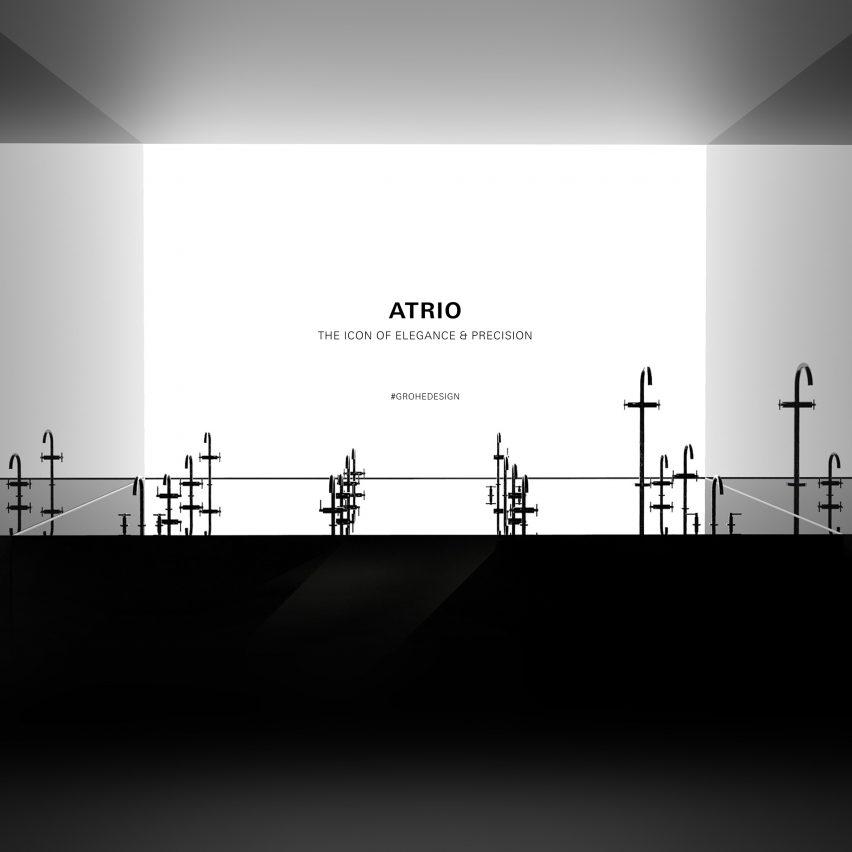 Atrio installation by Grohe