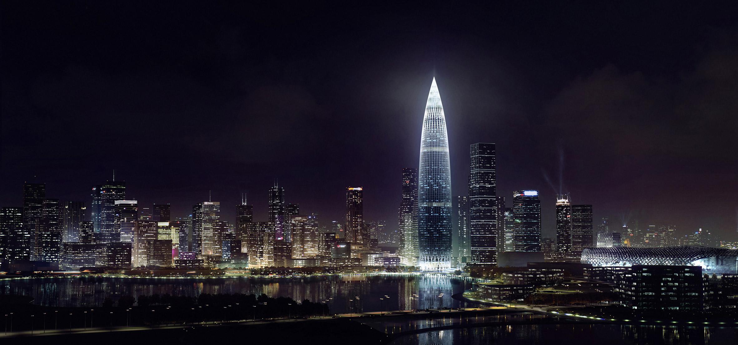 Kohn Pedersen Fox's China Resources HQ