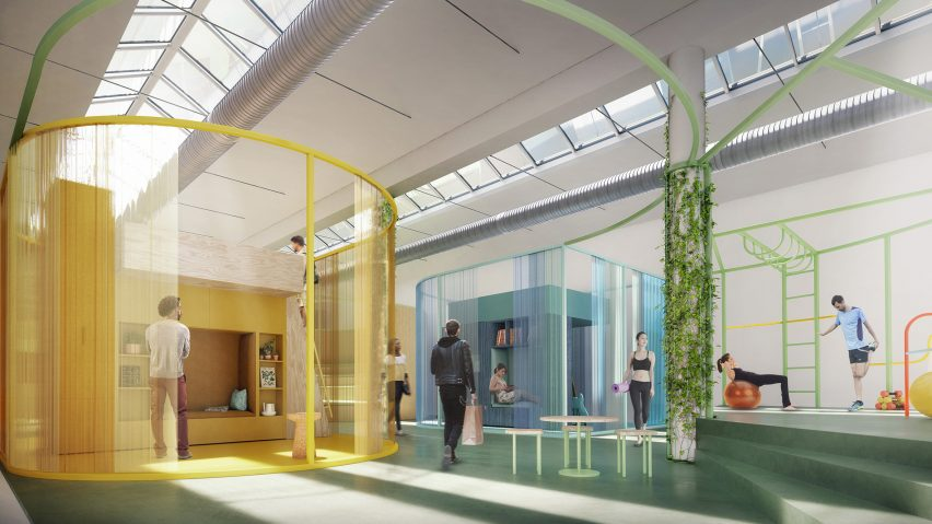 google offices milan. dezeen to team up with instagram, google, mini and many more for milan  design week google offices milan
