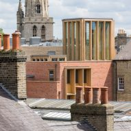 Niall McLaughlin Architects updates Cambridge college using historically appropriate materials