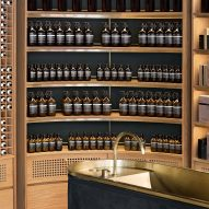 Aesop Montreal store by Alain Carle draws on local jazz heritage