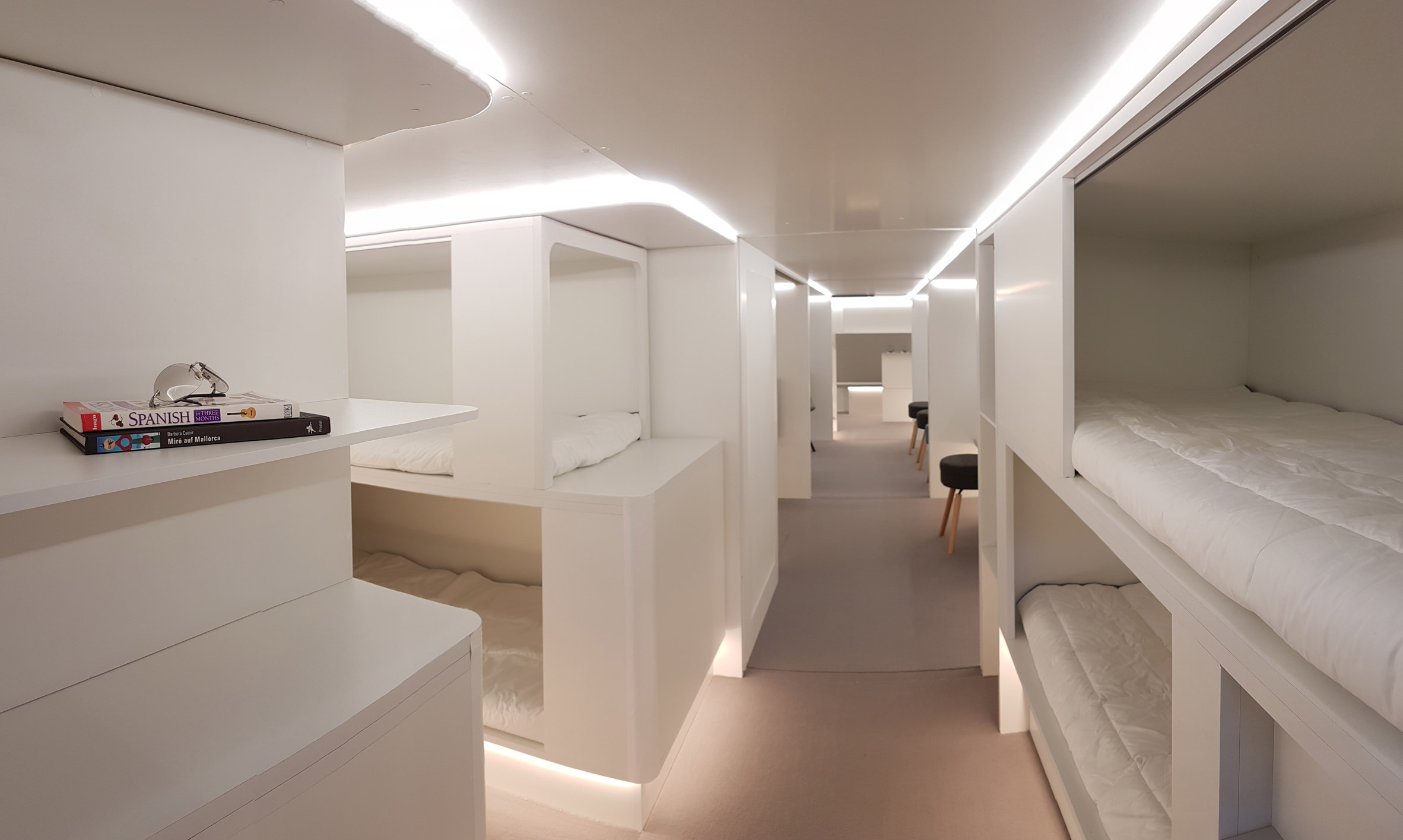 Airbus Could Install Bunk Beds On Passenger Planes By 2020