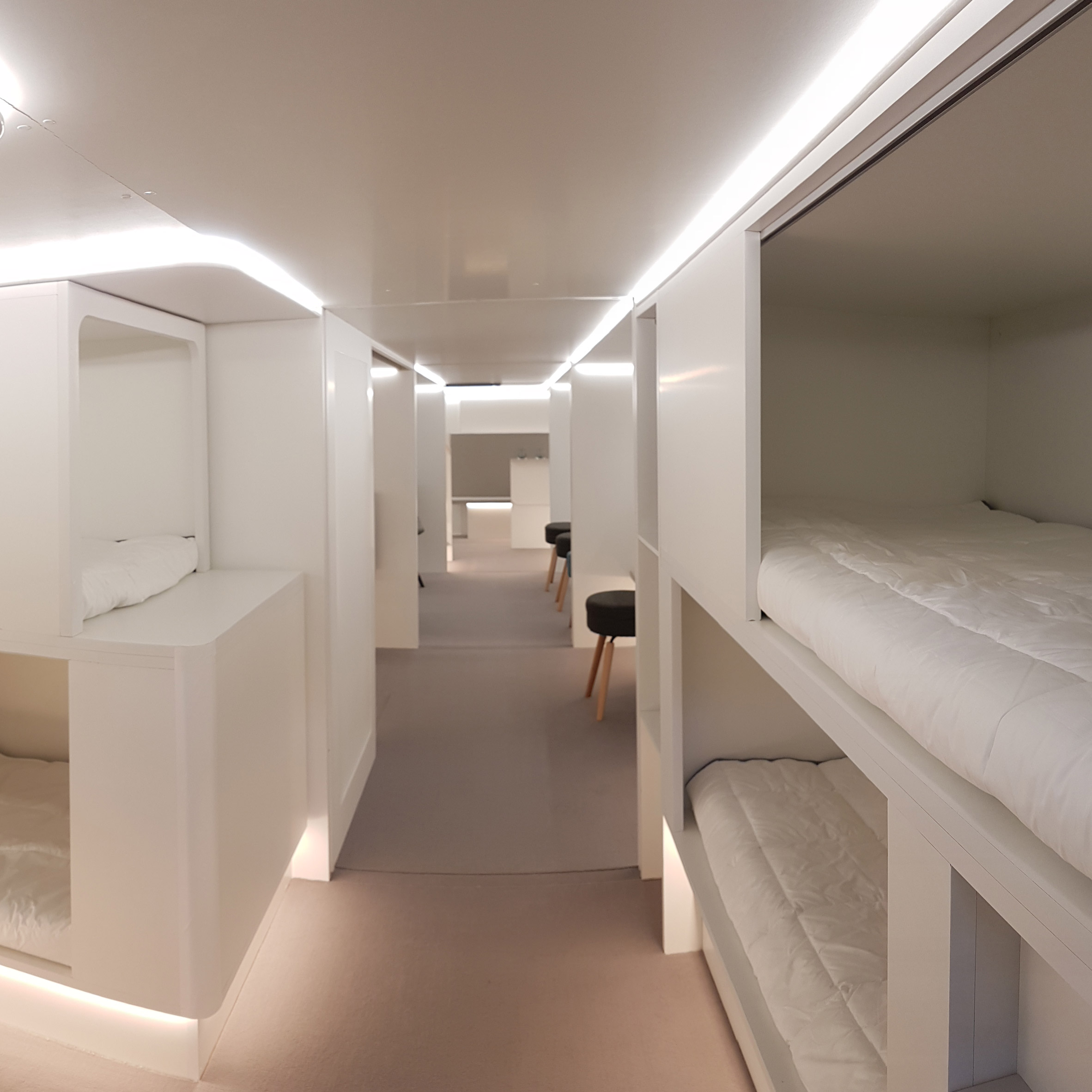 Picture of: Airbus Could Install Bunk Beds On Passenger Planes By 2020