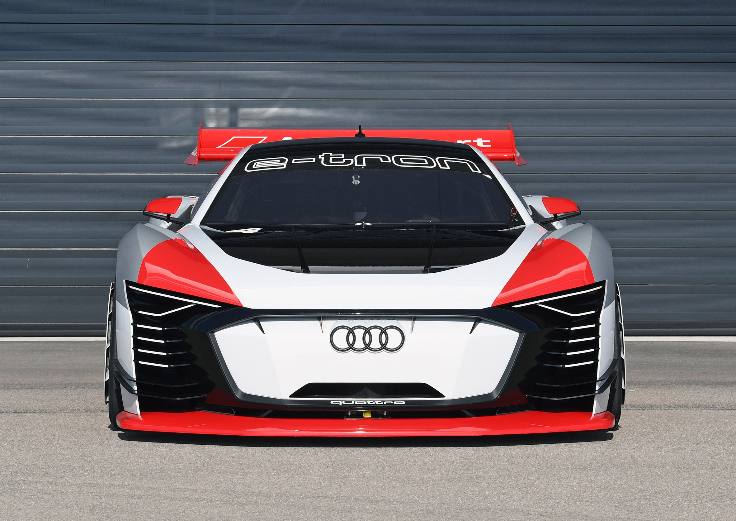 Audi makes the virtual reality with real-life Gran Turismo car