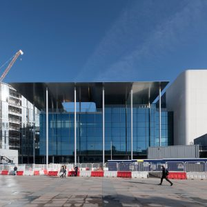 best sneakers b6d76 bee7a BBC Cymru Wales in Cardiff by Foster + Partners