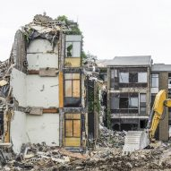 Destruction of brutalist buildings shown at Boston photography exhibition