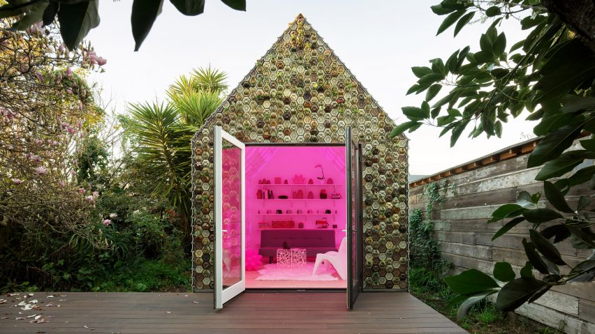 Cabin of 3D printed curiosities by Emerging Objects