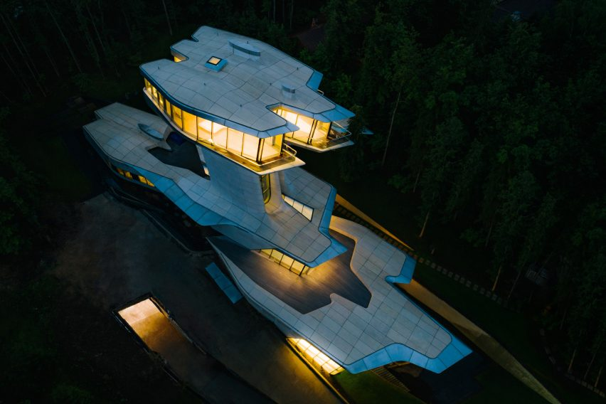 Capital Hill House by Zaha Hadid