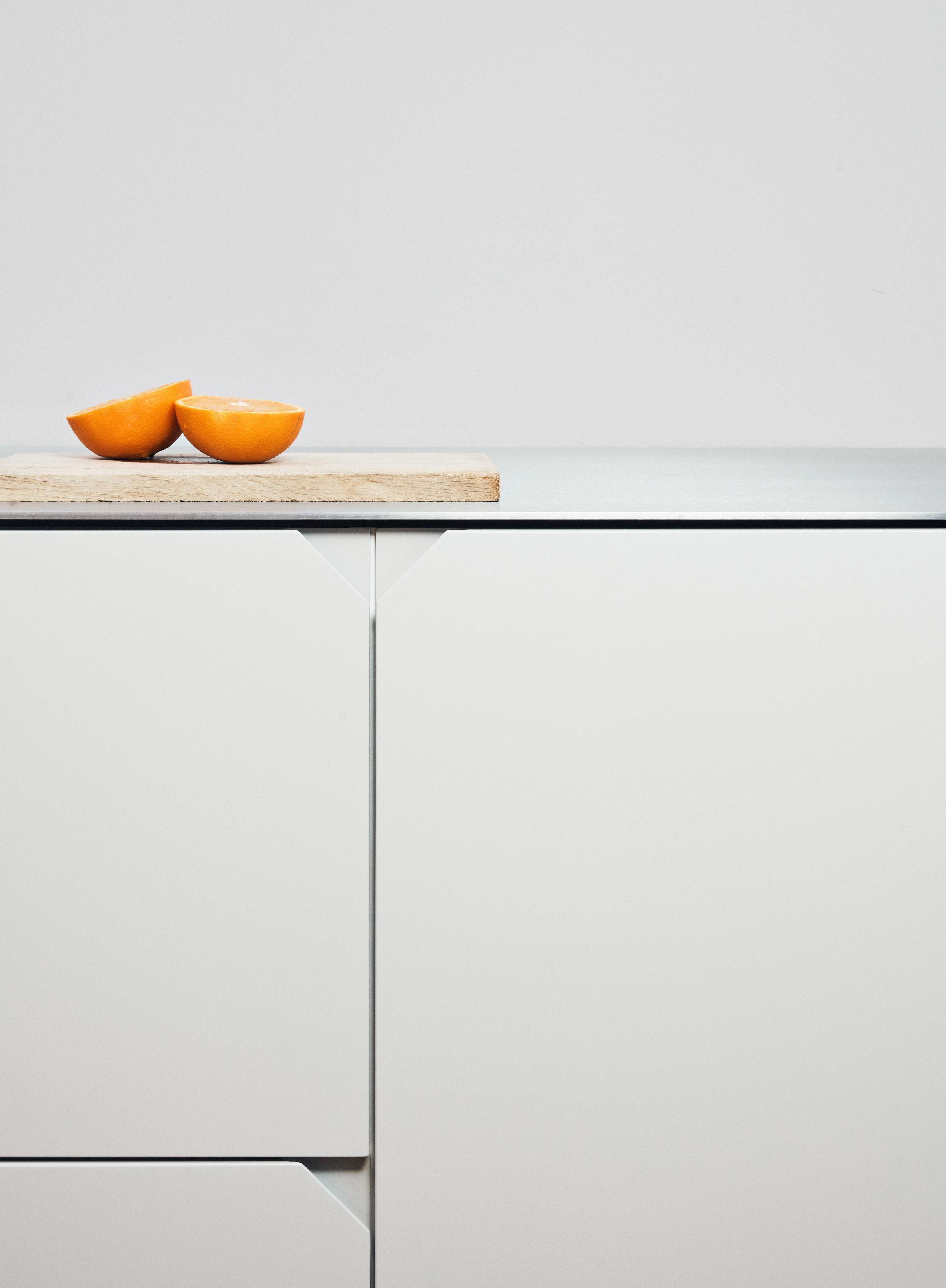 Cecilie Manz Hacks Ikea Kitchen Using Steel And Warm Toned Wood