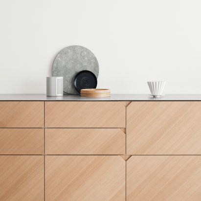 furniture design photo. Cecilie Manz Hacks IKEA Kitchen Using Steel And Warm-toned Wood Furniture Design Photo