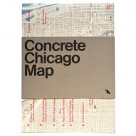 Competition: win a map of Chicago's concrete architecture