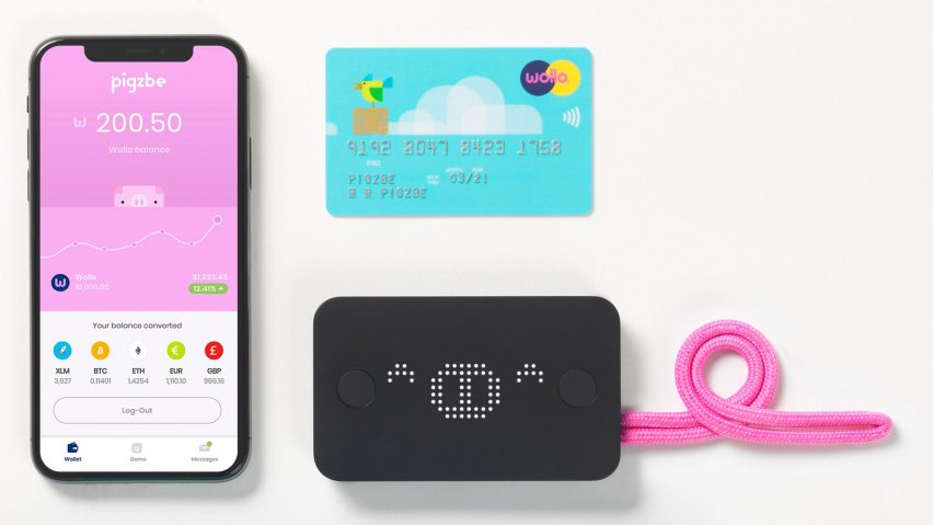 Children aged six and over can now purchase their own cryptocurrency using an application called Pigzbe, which functions as a digital piggy bank, where parents can digitally transfer pocket money to their children.