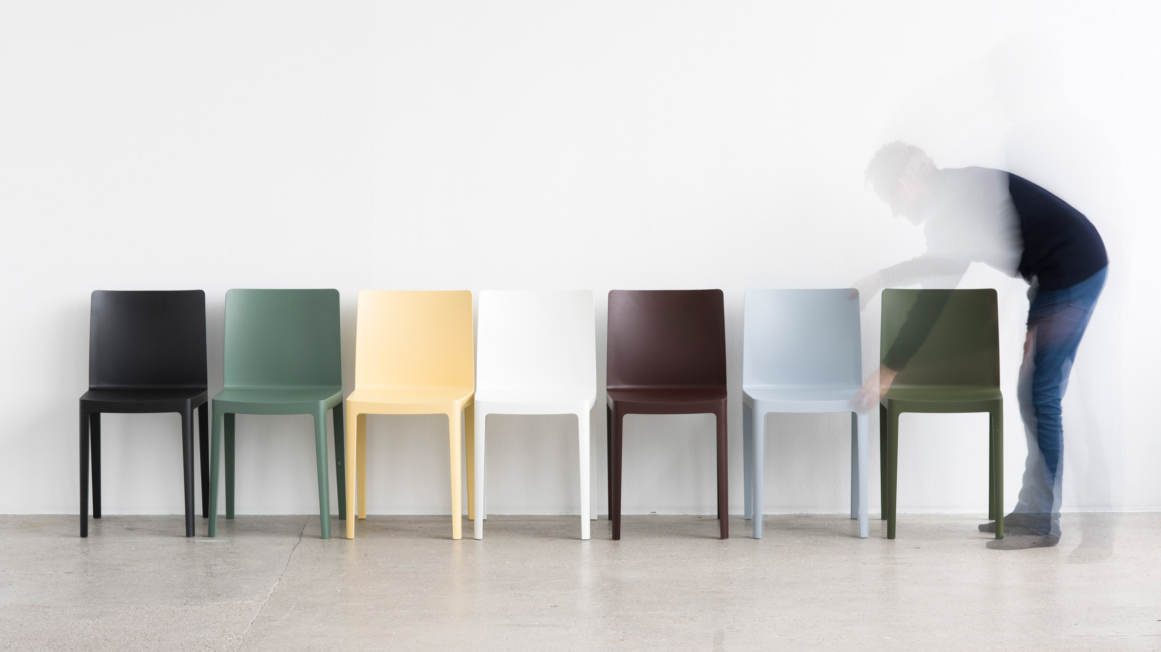 Bouroullec Brothers Design Low Cost Elementaire Chair For Hay