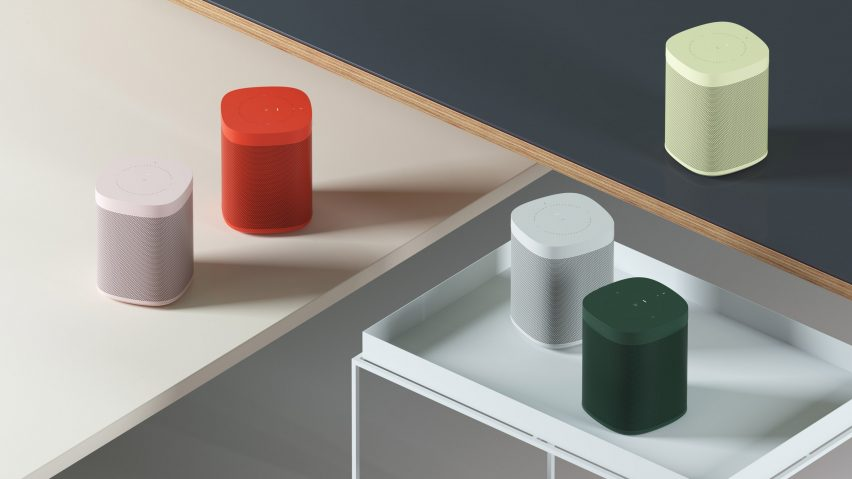 Hay and Sonos join forces to launch range of colourful speakers