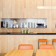 Fifties eateries in São Paulo influence deli at Institute of Architects of Brazil