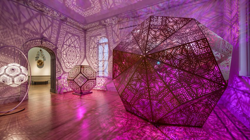 The Art of Burning Man exhibit