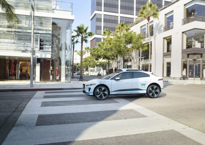 Jaguar to produce fleet of driverless I-Pace cars for Waymo's ride-hailing service
