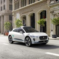 Jaguar reveals driverless I-Pace cars for Google's Waymo project