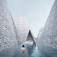 Kengo Kuma to build aquatics centre and harbour bath in Copenhagen