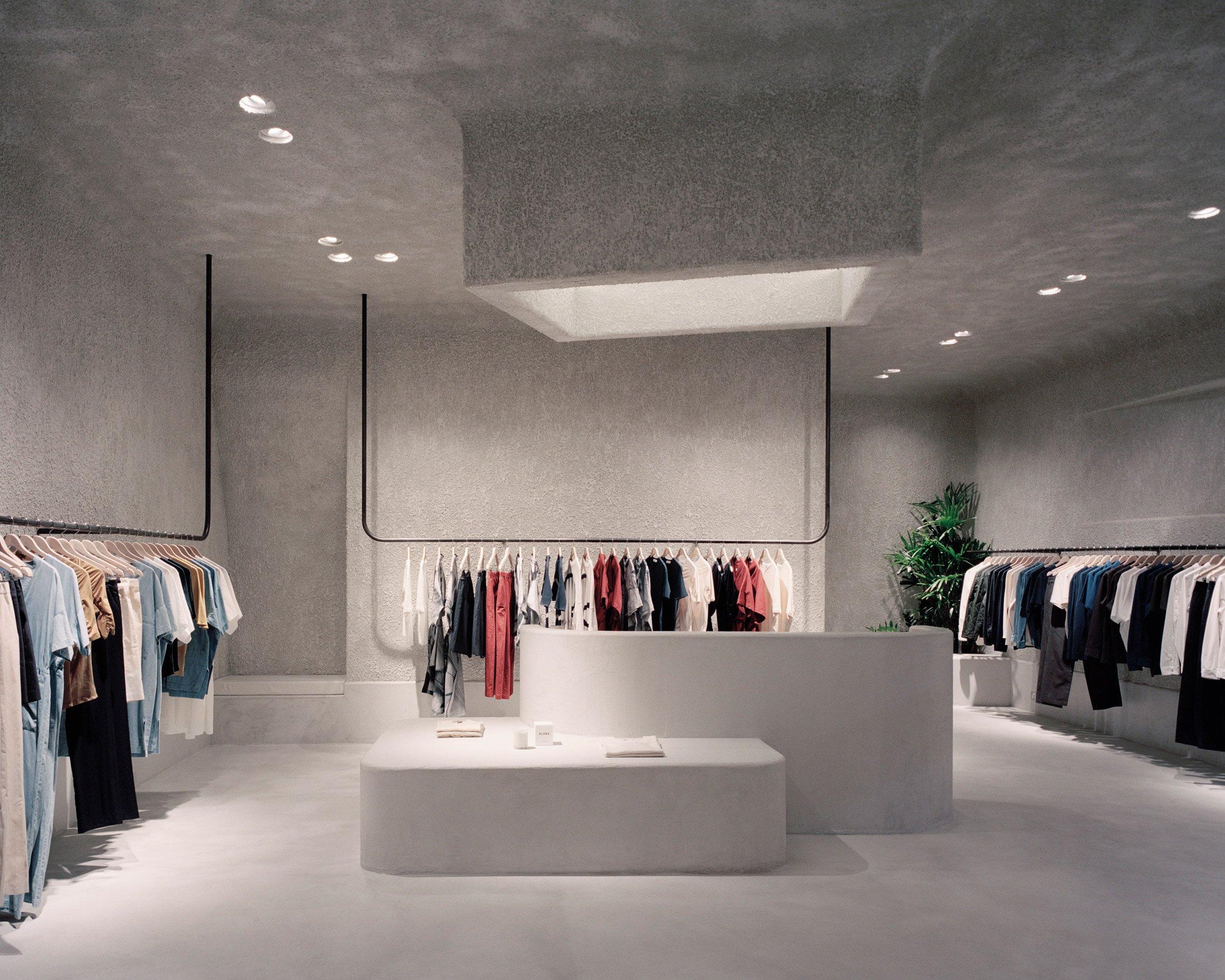 Kloke store by Studio Goss
