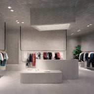 Studio Goss takes cues from brutalism for Melbourne clothing store