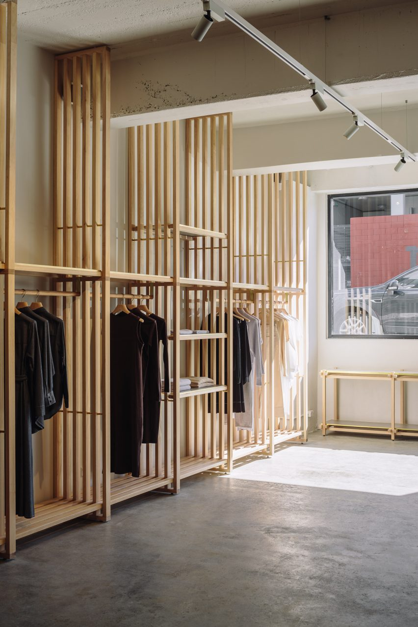 Kowtow store by Knight Associates