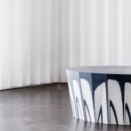 Recycled textile board used to make furniture by Front, Claesson Koivisto Rune and more