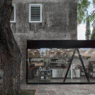 Heritage building in Uruguay houses new bakery and cafe by Pedro Livni Arquitecto