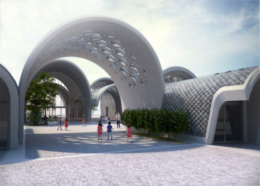 Lushan Primary School by Zaha Hadid Architects