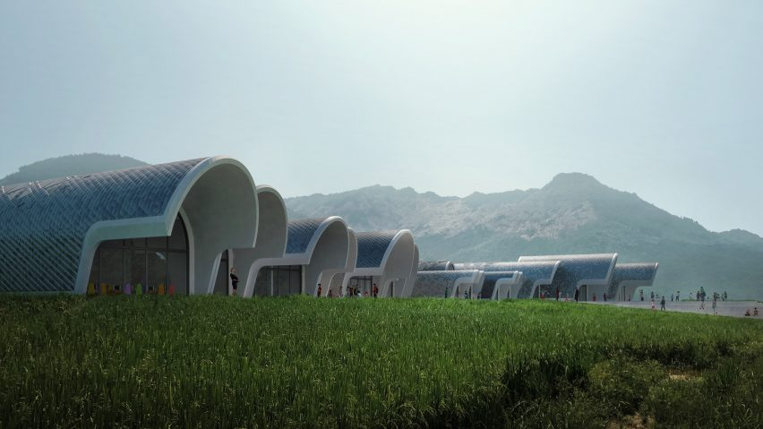 Zaha Hadid Architects will use robots to build school in rural China