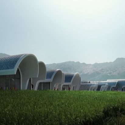 Lushan Primary School by Zaha Hadid Architects