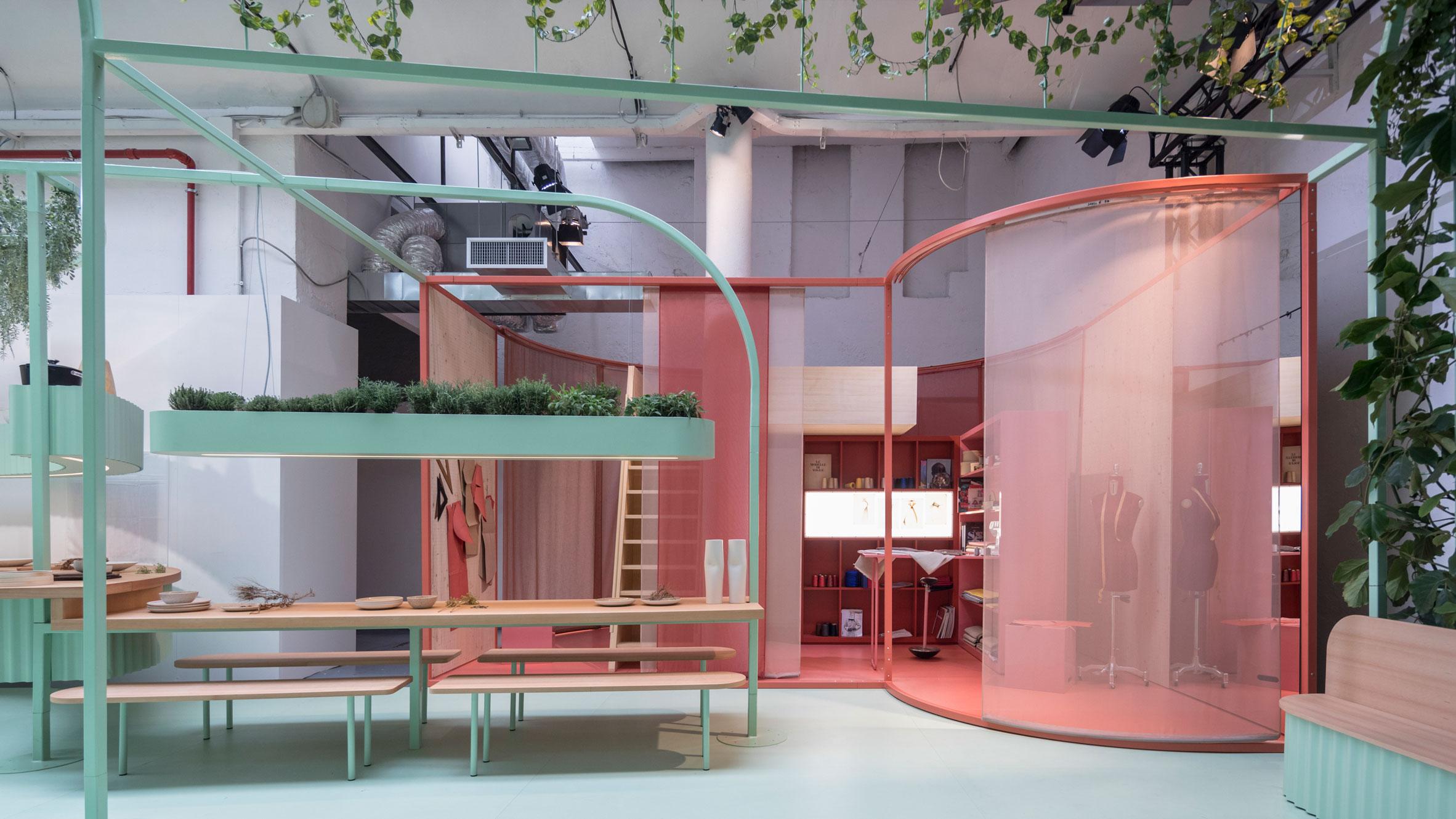 Studiomama Creates Colourful Capsule Homes For MINI Living Installation