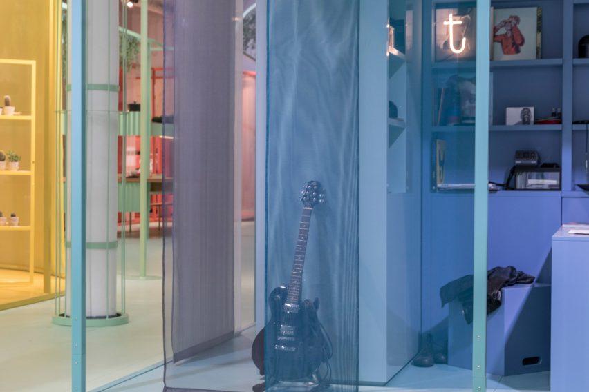 Studiomama creates colourful capsule homes for latest MINI Living installation