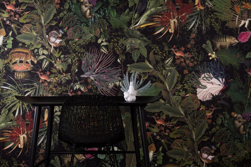 Moooi Pays Tribute To Extinct Animals With Range Of Wallpapers