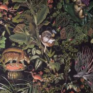 Moooi pays tribute to extinct animals with range of wallpaper and carpets
