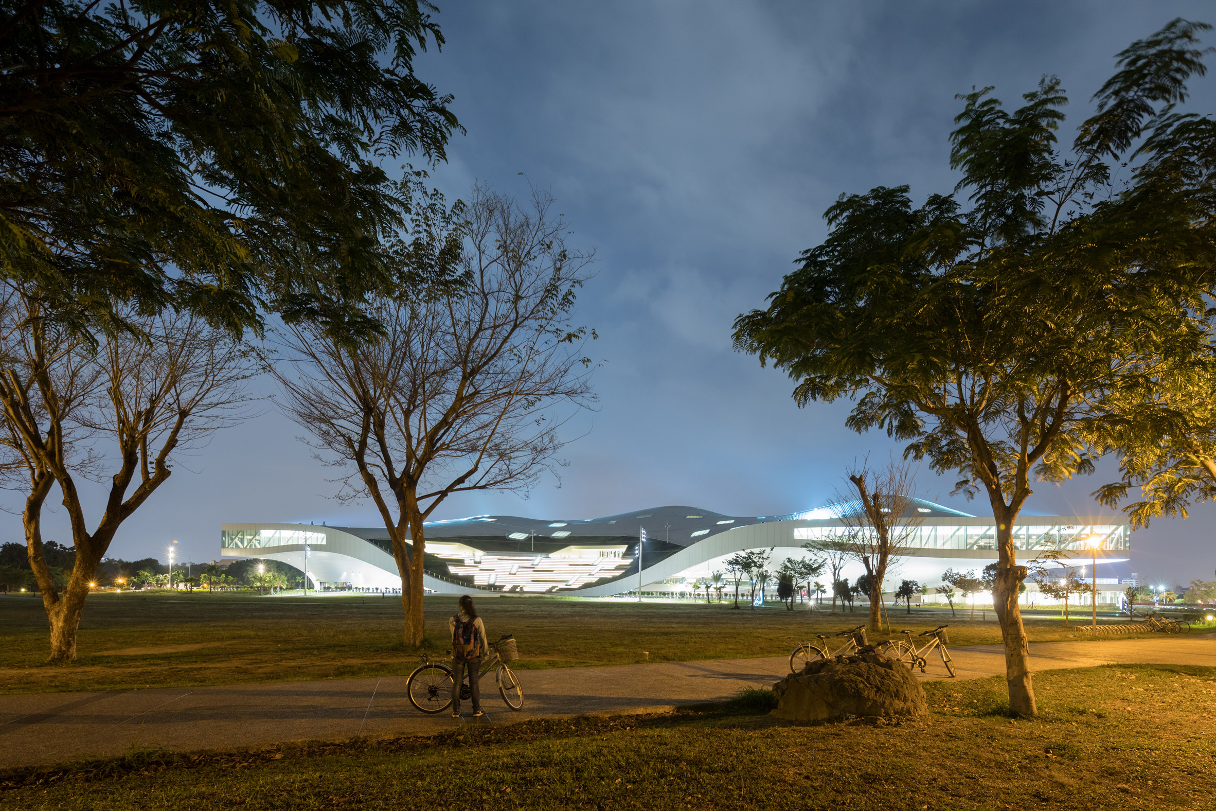 Mecanoo's performing arts centre nears completion in Taiwan