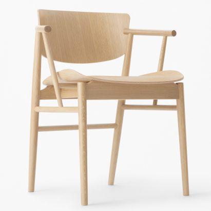 design wooden furniture. Nendo Designs Fritz Hansen\u0027s First Entirely Wooden Chair For 61 Years Design Furniture