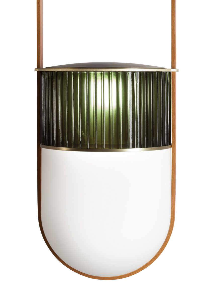 Neri&Hu's Xi lamps are designed to emulate the early morning sunlight