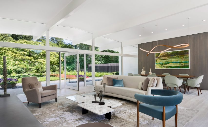 New Canaan Residence by Joel Sanders Architect
