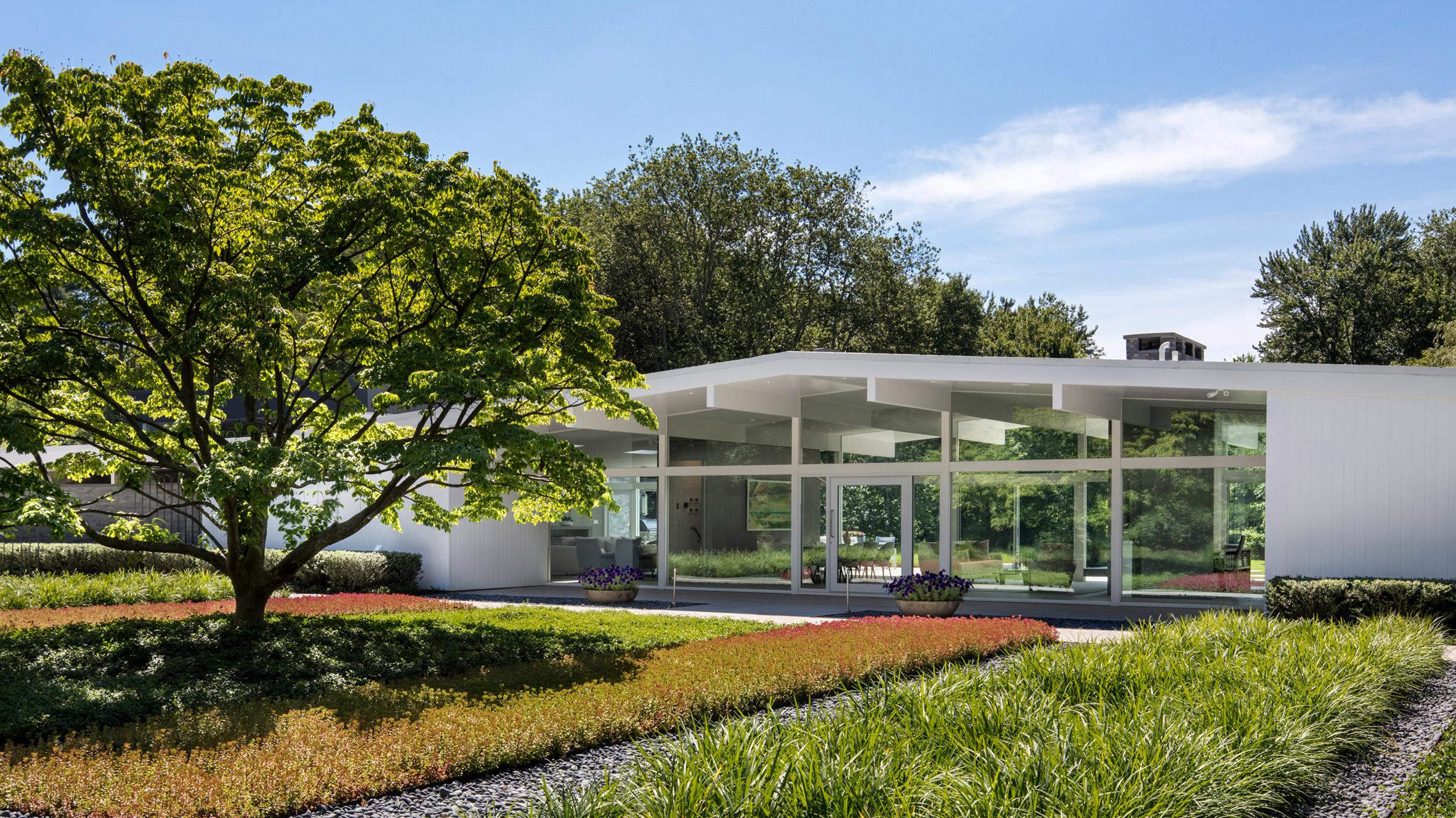 Joel Sanders Updates Mid Century Modern Home In Connecticut