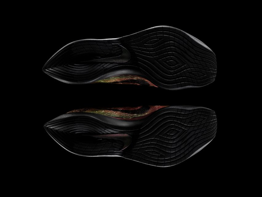 "Nike unveils ""world's first"" running shoes with 3D-printed uppers"